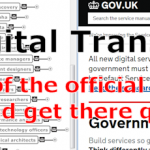 """UK Governments Official Digital Transformation """"Roadmap"""" Shows There Is A Place For Mindmapping In The Developers Toolbox [New Map]"""